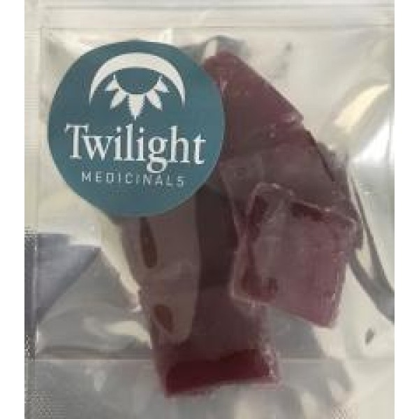 Twilight Hard Candy - Blueberry/Coconut (450mg THC/pack)