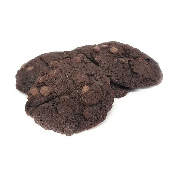 Vegan Chewy Double Chocolate Cookies (60mg THC)