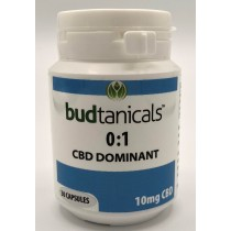Budtanicals CBD Dominant 0:1 Capsules - 10mg CBD (30 Count Bottle)