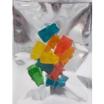 Squish Gummy Bears - Assorted flavours (100mg THC)