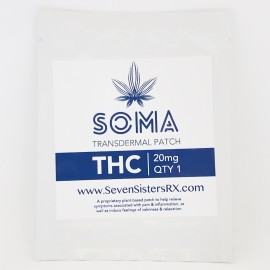 THC Transdermal Patch (20mg THC)