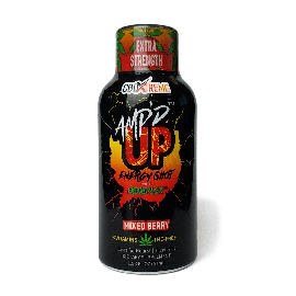 AMP'D UP Energy Shot - Mixed Berry Flavour (2mg CBD)