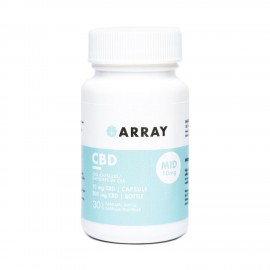 Array CBD Capsules - 10mg CBD (30 Count Bottle)