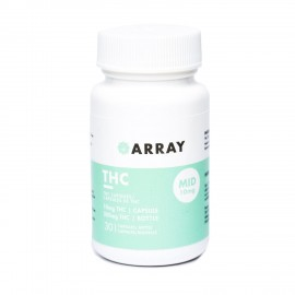 Array THC Capsules - 10mg THC (30 Count Bottle)