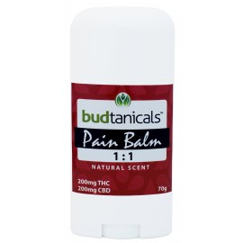 Budtanicals Pain Balm 1:1 (200mg THC & 200mg CBD) - Natural Scent