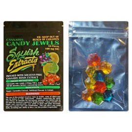 Candy Jewels -  Assorted Fruit Flavors (100mg THC)