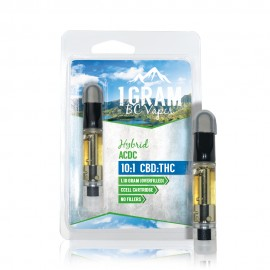BC Vapes CBD Cartridge - ACDC 10:1 (CBD 75.48% / THC 9.8%)