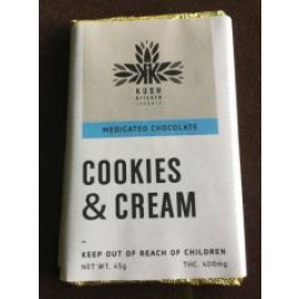 Kush's Kitchen Cookies & Cream Bar (400mg THC)