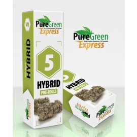 Pre Rolled Joints (5-pack) - Hybrid