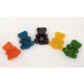 Kush's Kitchen Large Gummy Bear - 250mg THC per pack.
