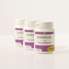 Budtanicals THC Dominant Microdose Capsules - 10mg THC (30 Count Bottle)