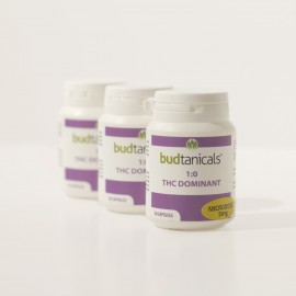 Budtanicals THC Dominant Microdose Capsules - 5mg THC (30 Count Bottle)