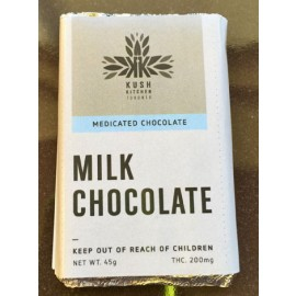 Kush's Kitchen Milk Chocolate Bar (200mg THC)