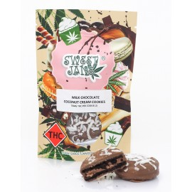 Sweet Jane - Coconut Cream Milk Chocolate Cookies (150mg THC per Pack)