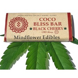 Coco Bliss Bar - Black Cherry (40mg CBD)