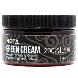 MOTA Green Cream 4oz (200mg THC/15mg CBD)