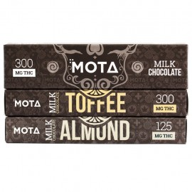 MOTA Milk Chocolate Bar - Almond (300mg THC)