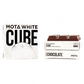 MOTA White CBD Milk Chocolate Cube (180mg CBD)