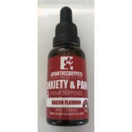 Apawthecary Hemp Terpene Pet Tincture - Bacon Flavour (300mg CBD)