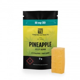 Pineapple CBD Jelly Bomb (80mg CBD)