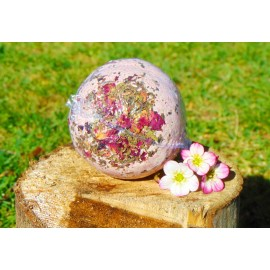 Organa Rose & Mint CBD Infused Bath Bomb - 25mg CBD