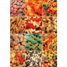 Assorted Sweet And Sour Candies - 3 Pack
