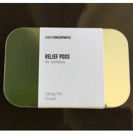 Relief Pods - 10 pack (100 mg THC)