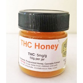 THC Honey - 5mg THC/per gram (50 Gram Jar)