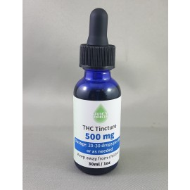 Juicy Edibles THC Tincture (500mg THC)