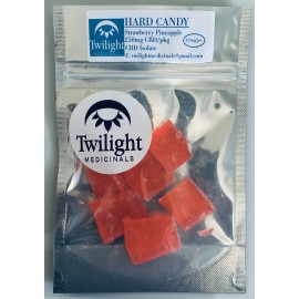 Twilight Hard Candy - Strawberry/Pineapple (250mg CBD/pack)
