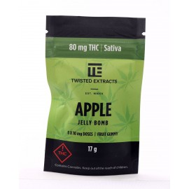 Apple Jelly Bomb - Sativa (80mg THC)