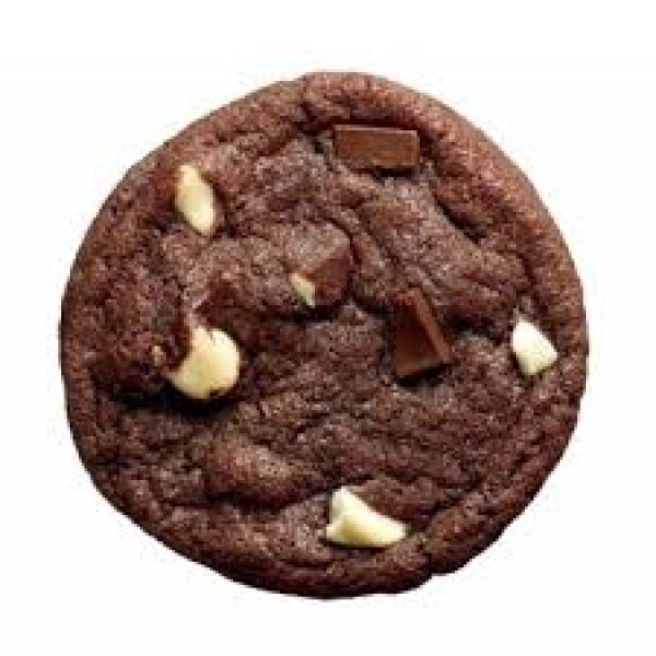 Chewy Double Chocolate Chip Cookie