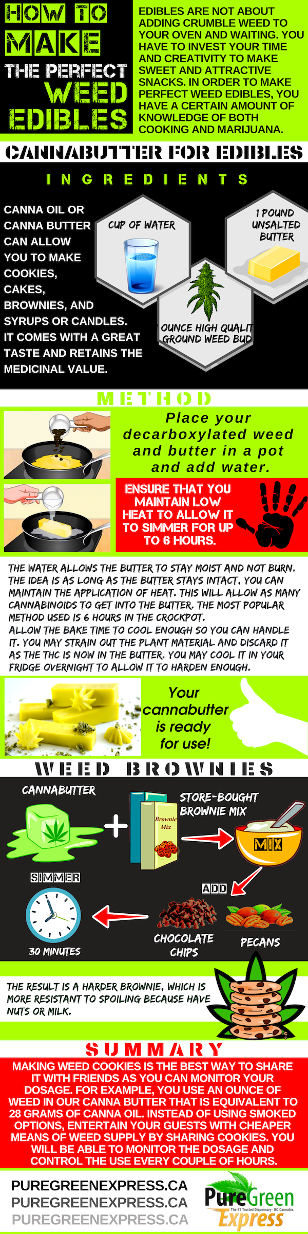 How to Make the Perfect Weed Edibles